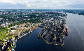 The ports of the Baltic States began to use the new cargo loading system