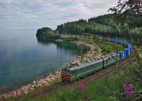 Estonia can get a part of traffic flow from the Trans-Siberian railway